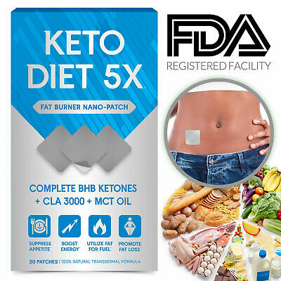 Fat Burner Pills Keto Diet Pills Weight Loss Patch Advanced BHB Supplements