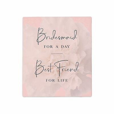 BRIDESMAID FOR A DAY BEST FRIEND FOR LIFE gifts Will You Be My Bridesmaid