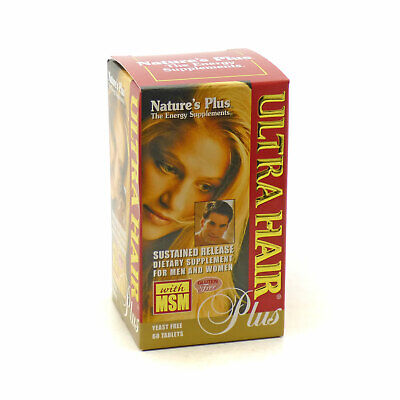 Nature's Plus Ultra Hair Plus 60 tablets
