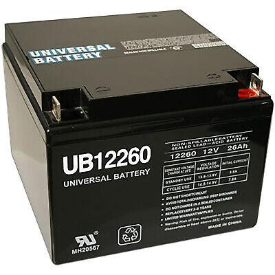 UPG UB12260 12Volt 26AH Sealed Lead Acid Battery (26ah Sealed Lead Acid Battery)