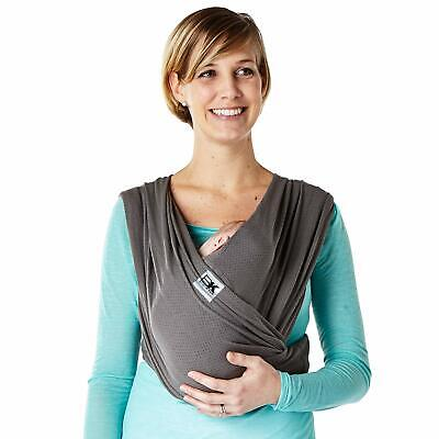 Baby K'tan Breeze Charcoal Carrier Wrap Small Extra Small Large XL (Large Baby Carrier)
