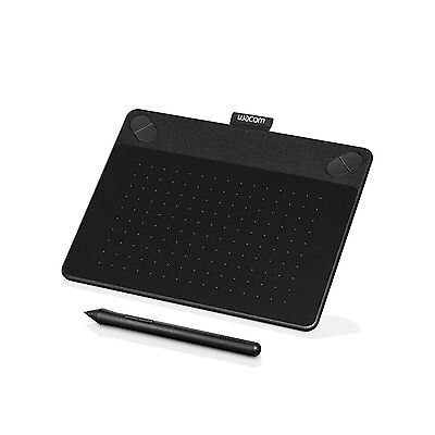 Wacom Intuos CTH490AK Art Pen and Touch Tablet - Small Black