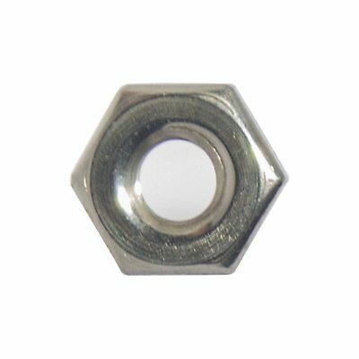 6-32 Machine Screw Hex Nuts Stainless Steel 18-8 Qty 100