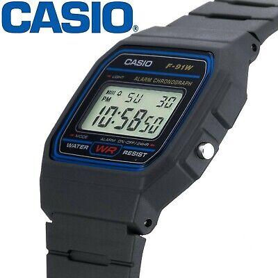 Reloj de pulsera digital Casio F91w retro UNISEX alarma (Original) Multifuncion
