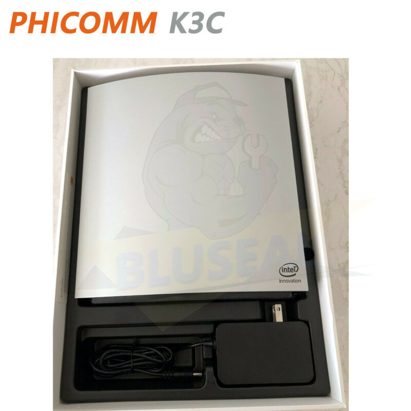 PHICOMM K3C AC 1900 MU-MIMO Dual Band Wi-Fi Gigabit Router Powered by Intel-NEW