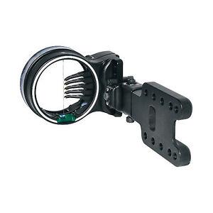 New Spot Hogg Hunter Archery Bow Sight Black RH Large Wrapped 5 (.019) Pins