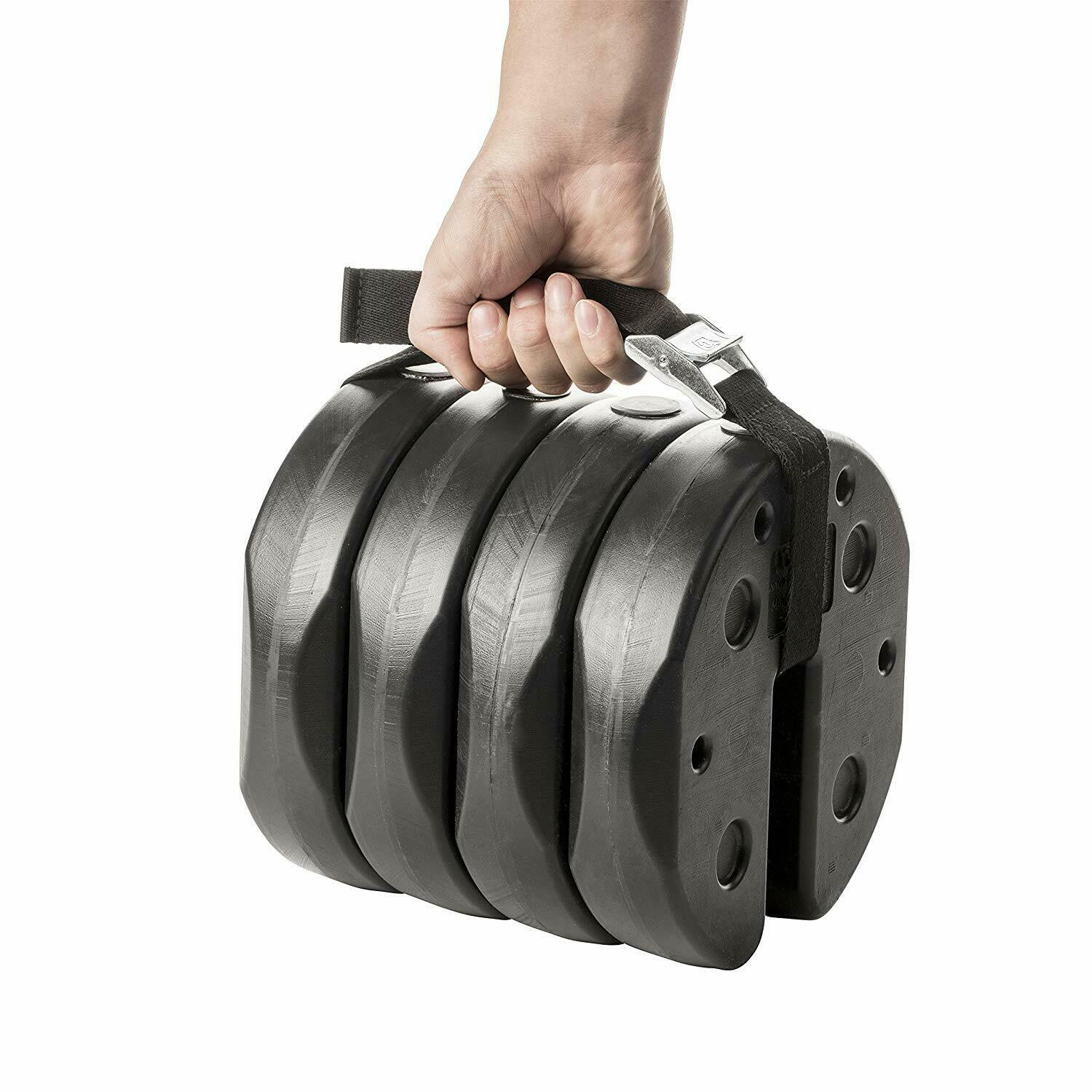 US Weight 30 lb. Tailgater Canopy Weights with No-Pinch Desi