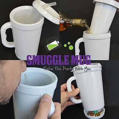 Smuggle Mug Hidden Flask 12 oz stealth flask FREE SHIPPING!!