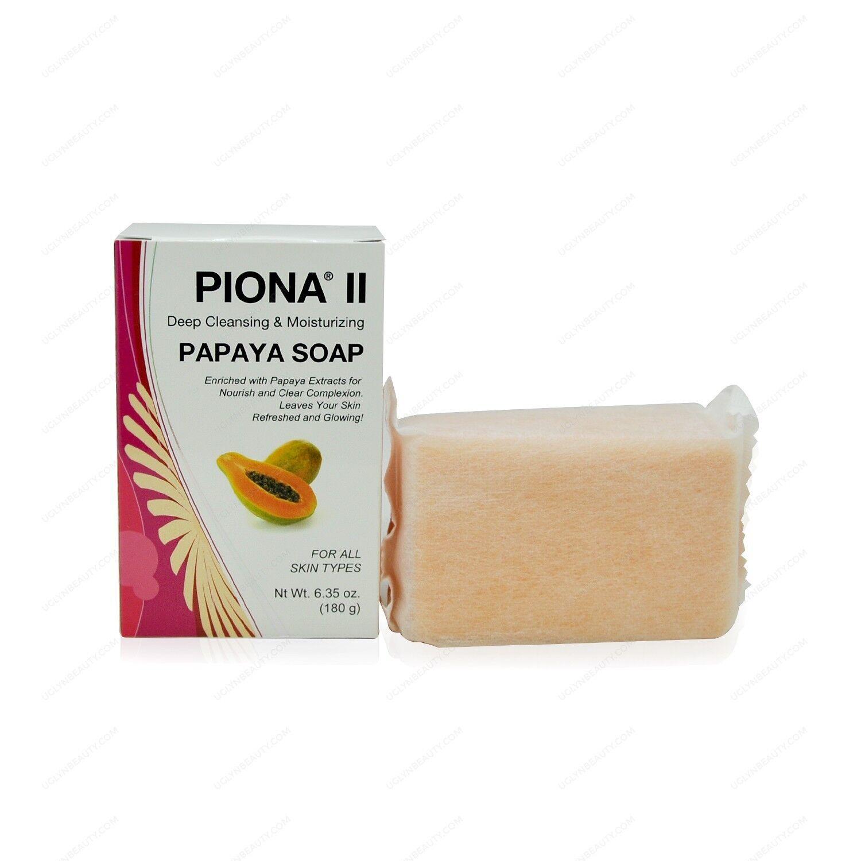 Piona II Deep Cleansing & Moisturizing Savon Papaya Soap 7oz Health & Beauty