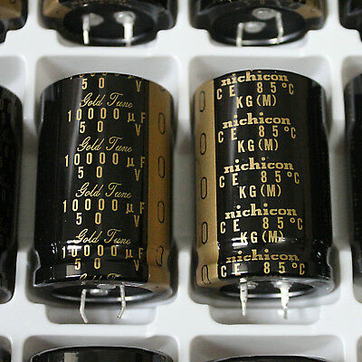 1pcs 10000uf 50v Nichicon Electrolytic Capacitor For Audio Hi-fi Filter Japan