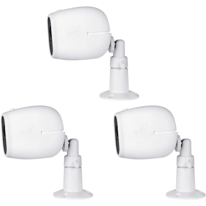 Arlo Pro and Pro 2 Security Metal Wall Mount and Silicone Skins Bundle (3 Pack)