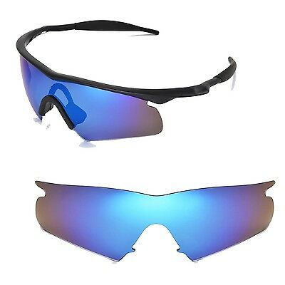 29a94569d6 New Walleva Ice Blue Replacement Lenses For Oakley New M Frame Hybrid  Sunglasses