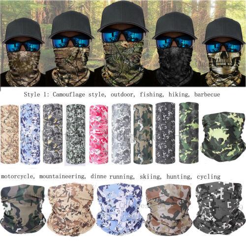 Scarf Headwear Face Mask Snood Shield Sun Mask Neck Tube Gai