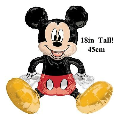 Disney Sitting Mickey Mouse Air filled Balloon Table Decoration 18