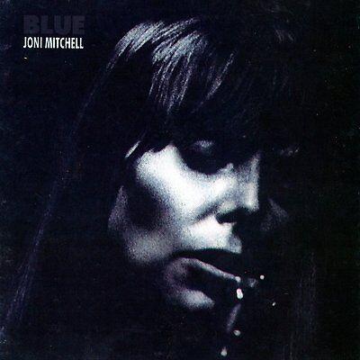 JONI MITCHELL - BLUE VINYL LP ** free UK posting **