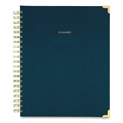 At-a-glance Harmony Weeklymonthly Hardcover Planner 11 X 8.5 Navy Blue 2021