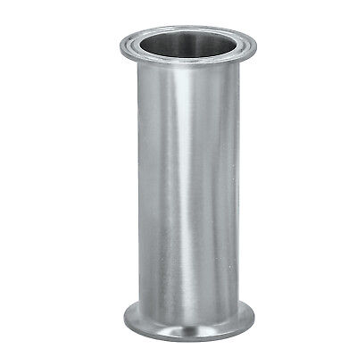 Hfsr 3 Sanitary Tri Clamp Clover Spool Pipe - 12 Length 304 Stainless Steel
