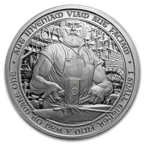 Купить 2 oz Silver Round - Destiny Knight: Duncan The Blacksmith - SKU#168407