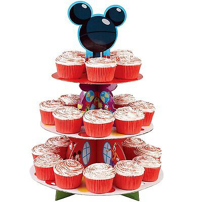 Mickey Clubhouse Cake Cupcake Tree Stand Party Birthday Decoration Kit Minnie NW