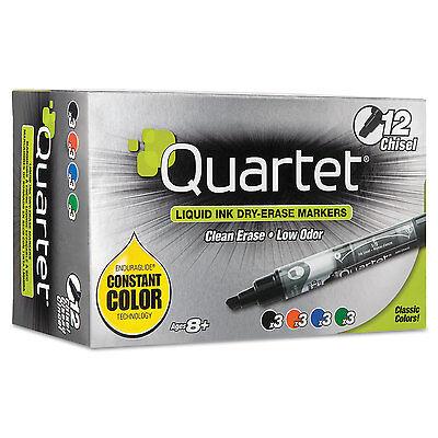 Quartet Enduraglide Dry Erase Marker Chisel Tip Assorted Colors 12set 500118m