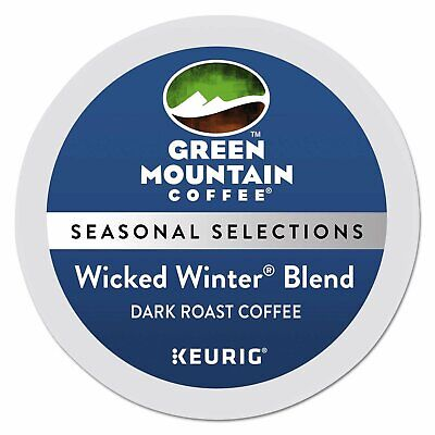 Green Mountain Coffee Wicked Winter Blend K-Cup for Keurig Brewers, 96 Count