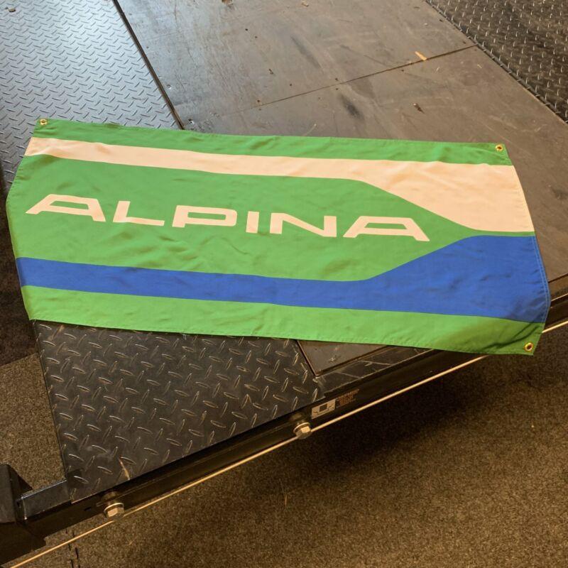 BMW Alpina Green Dealer Banner C1 C2 C3 E21 750i Euro Drift German Motor Sport M