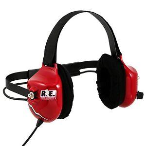 Racing Electronics RE-58 PLATINUM Race Day Scanner Headset Headphones