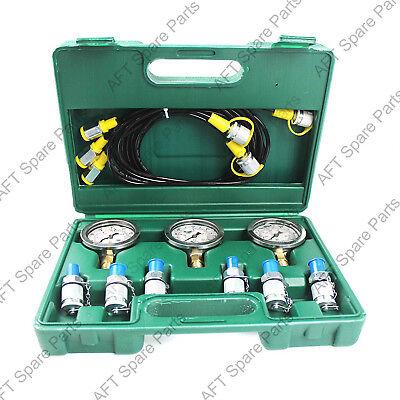 Excavator Common Hydraulic Pressure Testing Tool Hydraulic Pressure Gauge Kit