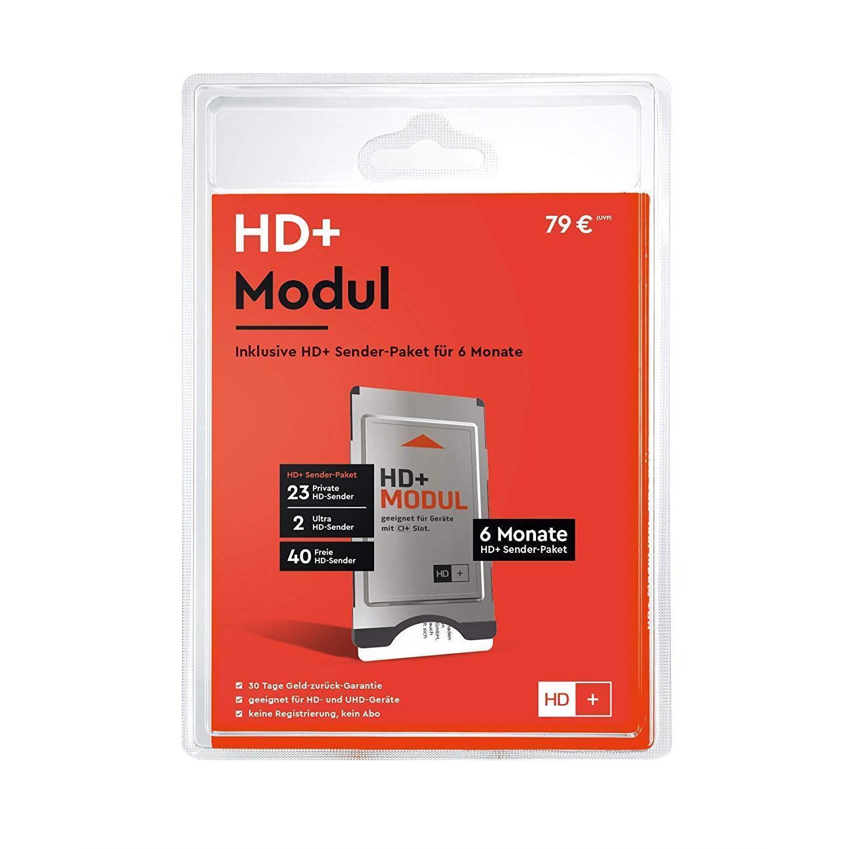 HD PLUS CI+ Modul inkl. HD+ Karte für 6 Monate, geeignet für UHD im Sat-Empfang