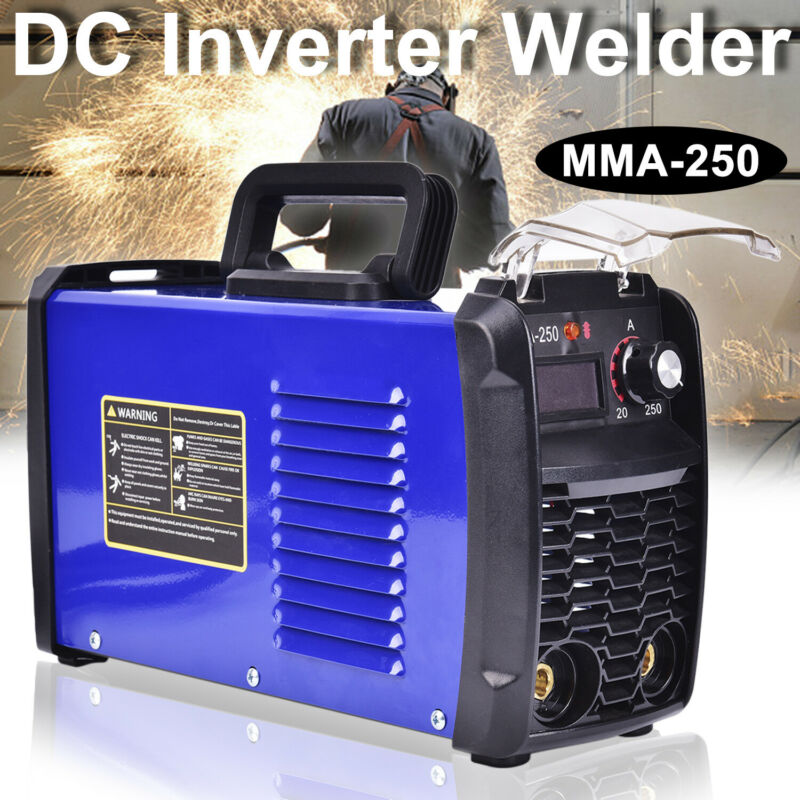 140 Amp MMA-250 Inverter Portable Digital Welder Stick Welding Machine 110V
