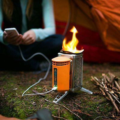 Ganz schön smart: Beim Köcheln wird Dein Handy geladen. (© Biolite)