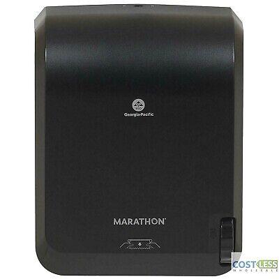 Marathon Mechanical Paper Towel Dispenser Black 16w X 8.9d X 12.9h
