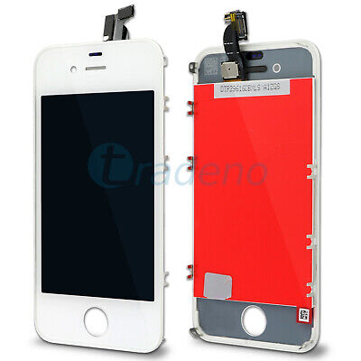 iPhone 4 4G Display Touchscreen Ecran Screen Front Glas LCD weiss white blanc Iphone 4 Display
