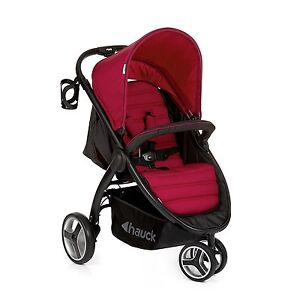 Hauck-Chilli-Red-Lift-Up-3-Pushchair-Stroller-From-Birth-Baby-Jogger-Buggy