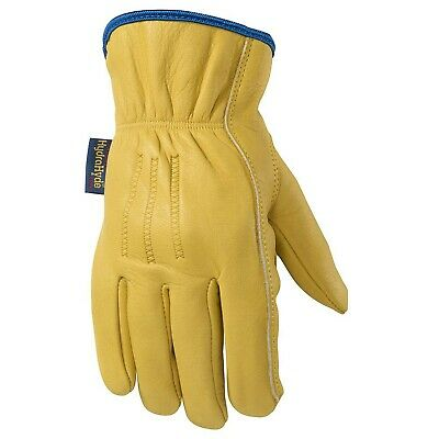 Slip-on Hydrahyde Leather Work Gloves Water-resistant Large Wells Lamont 1...