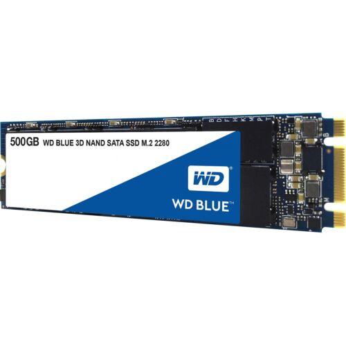 WD M2 2280 BLUE 3D NAND SATA SSD - 500 GB