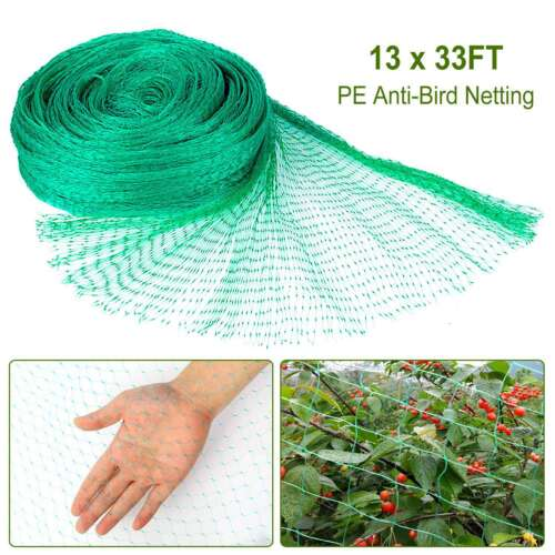 13'x33' Garden Bug Insect Netting Insect Barrier Bird Net Pl