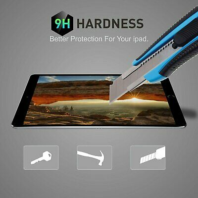 Premium Tempered Glass Screen Protector for Apple iPad Air 3rd Gen 10.5″ (2019) Computers/Tablets & Networking