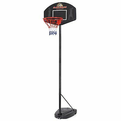 Slam Stars Junior Basketball Hoop Net With Adjustable Stand Basketball And