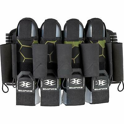 Empire F8 Action Pack 4+7 Paintball Harness - Komodo Shamrock - Green Black Action Pack Paintball Harness