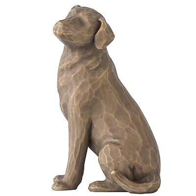 Willow Tree Love My Dog Dark Color Figurine by Susan Lordi 27683 Pet Dogs New
