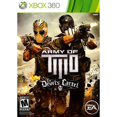 Army of Two: The Devil's Cartel Xbox 360 [Brand New]