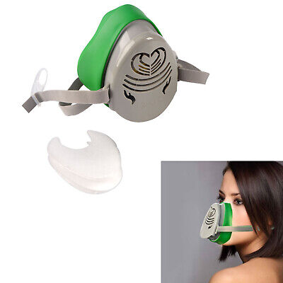 Respirator Gas Mask Safety Chemical Anti-dust Filter Military Eye Goggle Set New