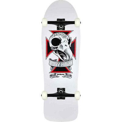 "Birdhouse Skateboard Complete Tony Hawk Skull 2 10.25"" Black trucks ASSEMBLED"
