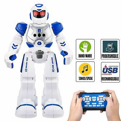 Remote Control Robot For Kids (TOYS FOR BOYS Remote Control Robot Children RC Toy 3-10 Years Old Kids Xmas)