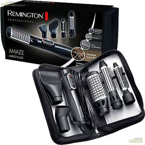 Remington Amaze Smooth and Volume Womens Hair Ionic Airstyler Bundle Kit AS1220