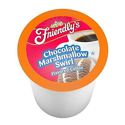 12ct Friendly's Single-Cup Coffee for K-Cup Brewers, Chocolate Marshmallow (Marshmallow Chocolate Coffee)