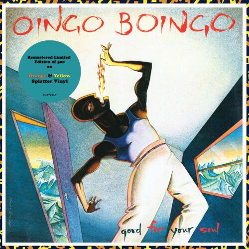 OINGO BOINGO Good For Your Soul LP NEW Orange & Yellow vinyl LP Danny Elfman