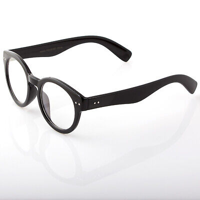 Unisex Fun Party Clear Lens Black Frame Nerd Glasses Halloween Costume (Fun Party Glasses)