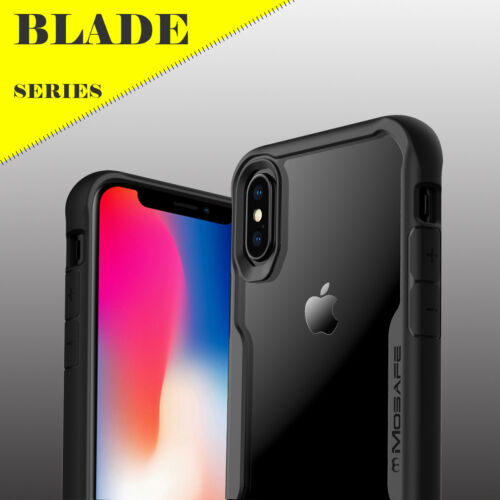 For iPhone XS Max XR X 8 7 Plus Mosafe® Hybrid Clear Shockproof Hard Case Cover